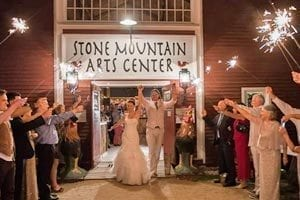 Stone Mountain Arts Center New Hampshire Wedding Magazine Getting