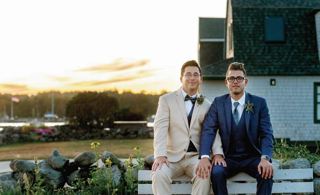 Two Grooms….. (click here to see more)