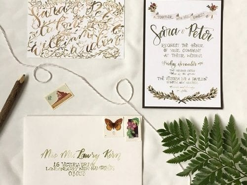 The Making of the Invitations